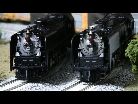 Athearn Northern #844 Steam Locomotive w/ Tsunami Sound Review +