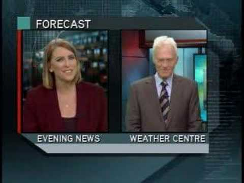 Global tv weatherman blooper