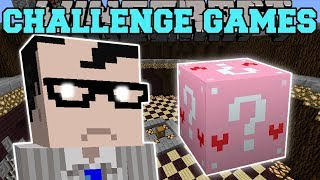 Minecraft: RUDE LAWYER CHALLENGE GAMES - Lucky Block Mod - Modded Mini-Game