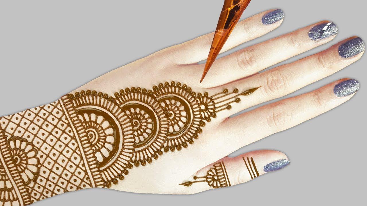 beautiful arabic bridal mehndi design tutorials
