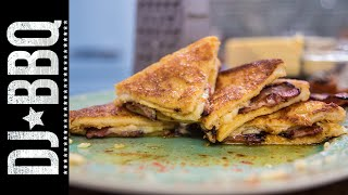 Breakfast Grilled Cheese | DJ BBQ by DJ BBQ