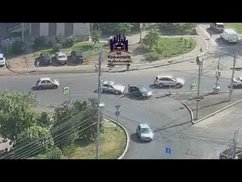 Годенко - Киренского 21.08.2018 ЧП Красноярск