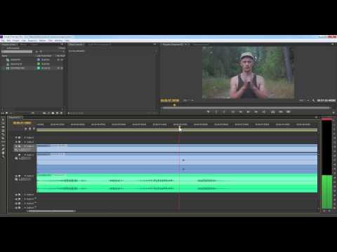 Как сделать звук в adobe premiere pro cc 426
