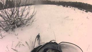 5. arctic cat bearcat 570 xt зима 2013