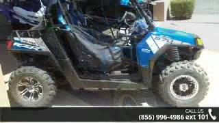 10. 2014 Polaris RZR 570 EPS Trail LE Blue Fire  - RideNow Po...