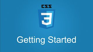 CSS Workshop - Getting Started