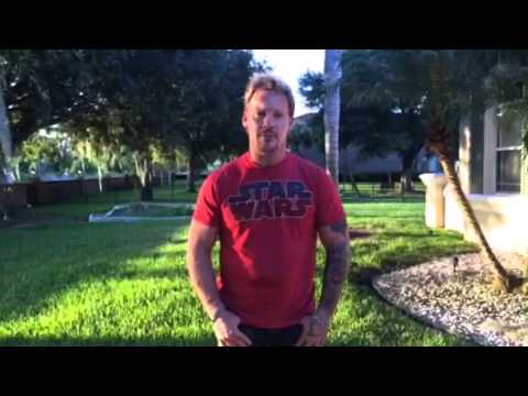 chris - CHRIS JERICHO does the Ice Bucket Challenge! CHALLENGE Nominations: WILLIAM SHATNER PAUL STANLEY CHAEL SONNEN.