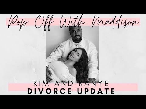 Kimye DIVORCE UPDATE: Kanye lawyers up as him & Kim K start negotiations | Pop Off w/Maddison 💬🍾