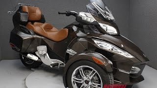 6. 2012  CAN AM  SPYDER RT SE5 LIMITED    - National Powersports Distributors