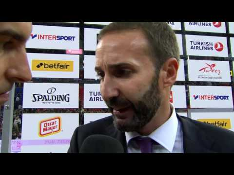 Post-Game interview, RS Round 1: Coach Sito Alonso, Baskonia Vitoria Gasteiz