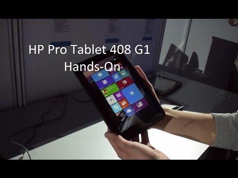 HP Pro Tablet 408 G1 Hands-On / Erster Eindruck (Deutsch)
