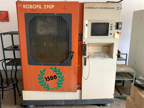 Wire Electrical Discharge Machine CHARMILLES ROBOFIL 290P 2000