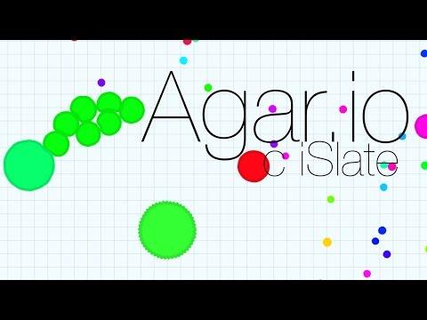 Agar.IO с iSlate LIVE - \