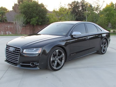2015 Audi S8 4.0T Quattro Start Up, Quick Drive, and In Depth Review