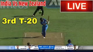 India Vs New Zealand 3rd t20 Live Streaming // Ind Vs Nz 3rd t20 live match score