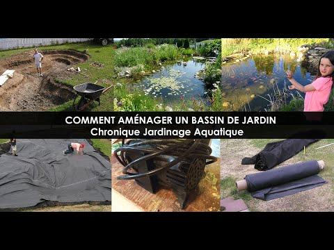 Search result youtube video am nagement jardin for Amenagement bassin de jardin
