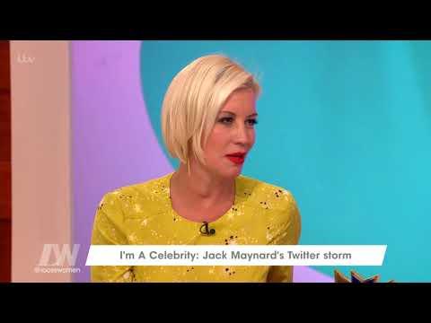 I'm A Celeb's Jack Maynard Twitter Storm | Loose Women