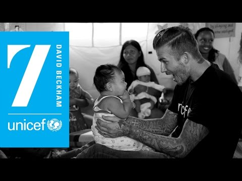 David Beckham's 10 Years At UNICEF: An Interview with Lord David Puttnam | Official Website of David Puttnam | Atticus Education | General