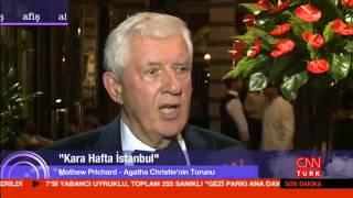 Agatha Christie'nin Torunu Mathew Prichard İstanbul'daydı!