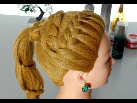 Hairstyles for everyday. Braided hairstyles for long hair.