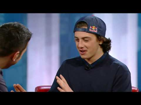 Mark mcmorris - http://www.cbc.ca/strombo/ Canadian Olympic snowboarder Mark McMorris is in the red chair. His specialty, Slopestyle, will make its Olympic debut at the 2014...