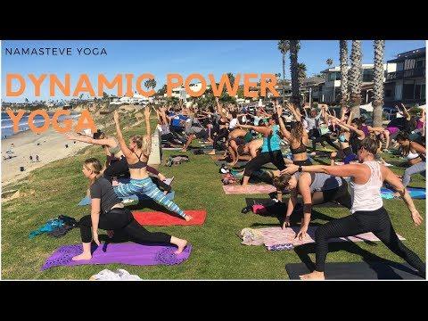 Dynamic Oceanfront Power Yoga