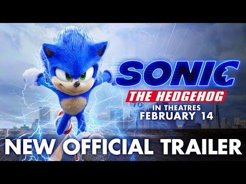 """القنفذ """"سونيك"""" يزور الأهرام في الإعلان التشويقي لـ Sonic the Hedgehog"""