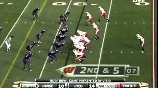 Peter Konz vs TCU ( 2011 Rose Bowl)