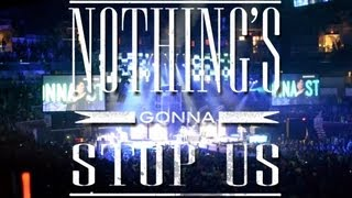 Nothing's gonna stop us
