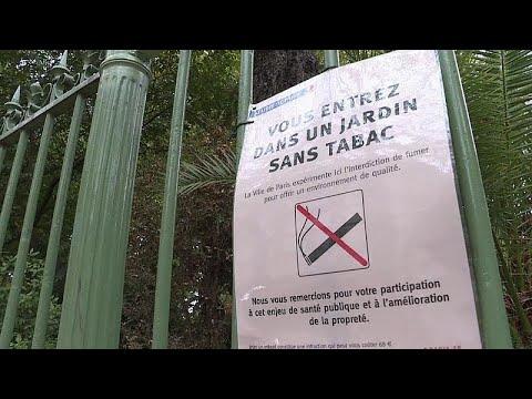 Werden Pariser Parks bald zur rauchfreien Zone?