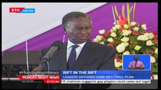 Political competition in the rift valley took Centre stage at the burial of the late veteran politician Mark Too. Deputy President William Ruto and Baringo s...