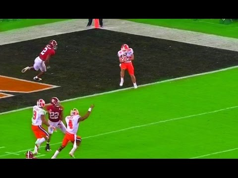 Clemson  Alabama Highlights  National Championship Highlights video 2017 (видео)