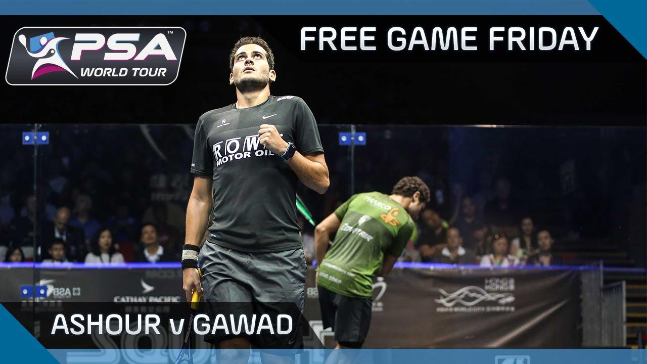 Squash: Free Game Friday – Ashour v Gawad – Hong Kong Open 2016