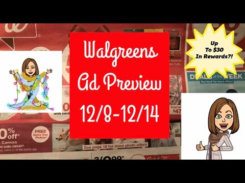 Walgreens Ad Preview 12/8-12/14 Hot Upcoming Deals!