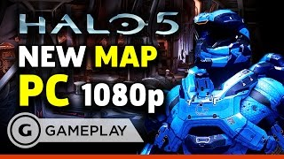 Halo 5: Forge - PC Gameplay on the New Map by GameSpot