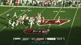 Max Bullough vs Wisconsin (2012)