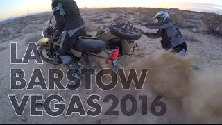 8. Bike-urious Ural Gear Up Sahara Adventure - 2016 LA-Barstow-Vegas