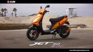 8. Official SYM Jet 50 EVO - Scooter HD Video - Distributed by AlliancePowersports.com