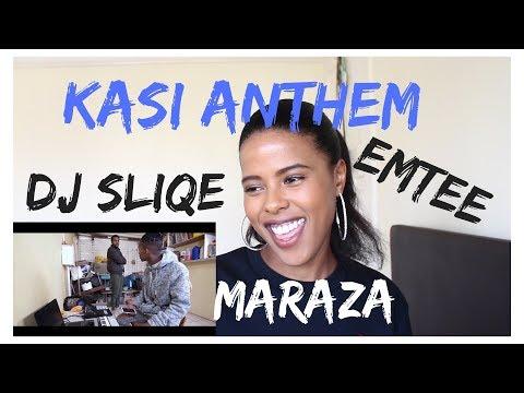 🇿🇦 DJ Sliqe - Kasi Anthem ft. Emtee, Maraza | (***REACTION***)