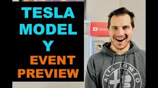 Tesla Model Y Event Preview! $39,000 Electric SUV?! Elon Musk 😜