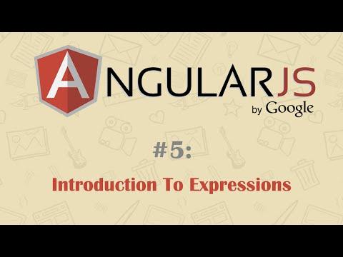 AngularJS Expressions Tutorial