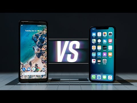 iPhone X vs Pixel 2 XL: We're All Wrong (видео)