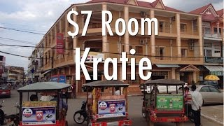 Kratie Cambodia  City new picture : My $7 Room In Kratie, Cambodia - Heng Heng Guest House