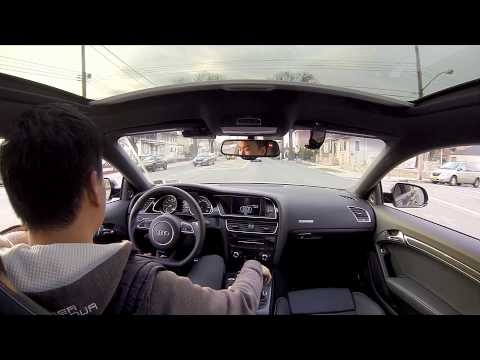 2013 Audi RS5 Coupe – Sunroof Interior Mount