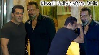 Video Salman Khan & Sanjay Dutt Celebrate Diwali 2018 Together | Salman ENDS FIGHT With Sanjay Dutt MP3, 3GP, MP4, WEBM, AVI, FLV Januari 2019