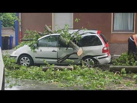 Nordrhein-Westfalen: Heftige Unwetter verwüsten das Ruhrgebiet