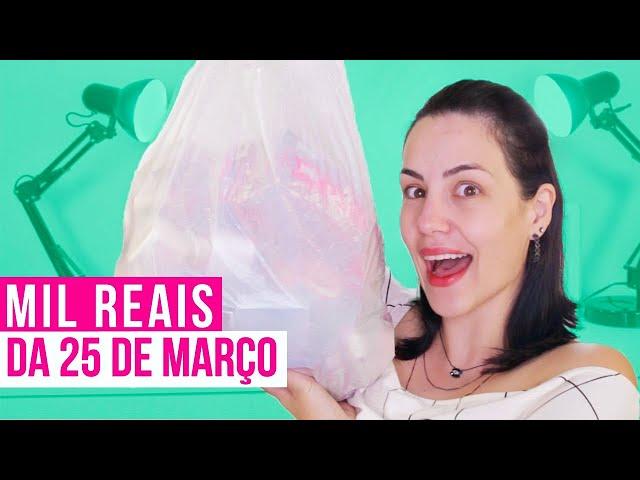 MIL REAIS EM MAQUIAGENS DA 25 DE MARÇO  - Bruna Malheiros
