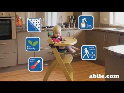 Abiie Beyond Junior Wooden High Chair (Y Chair)