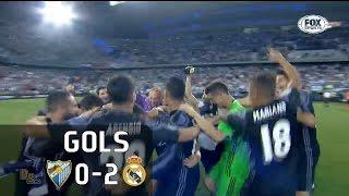 Gols - Málaga 0 x 2 Real Madrid - 38ª Rodada La Liga 2016-2017 - 21/05/2017Narração: Eder Reis, Comentários: Eugênio LealEstádio: La Rosaleda