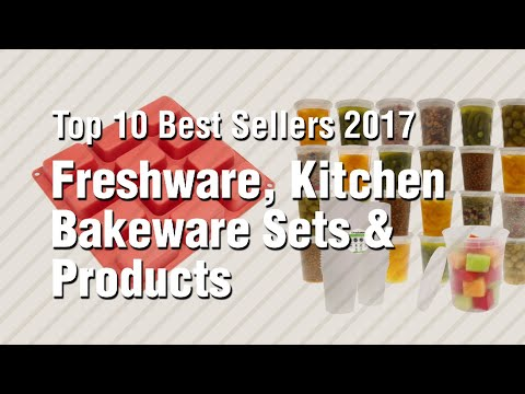 Freshware, Kitchen Bakeware Sets & Products // Top 10 Best Sellers 2017